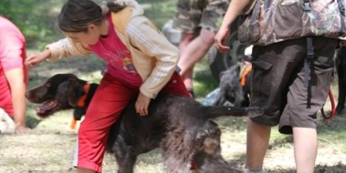 Ульяна Кокорева продемонстрировала акробатический этюд с мамой и собакой, покорив зрителей свой грацией