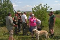 2012 г. Первенство практической охоты с подружейными собаками.